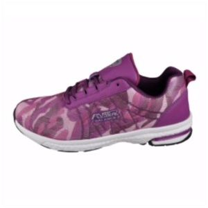 Air Balance Sneakers Purple Camouflage